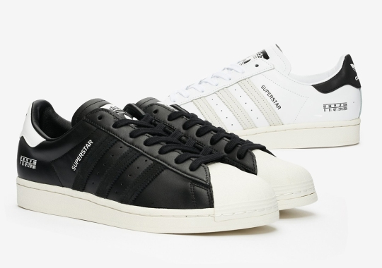 adidas Flips The Size Tags Into A Decorative Accent On The Superstar