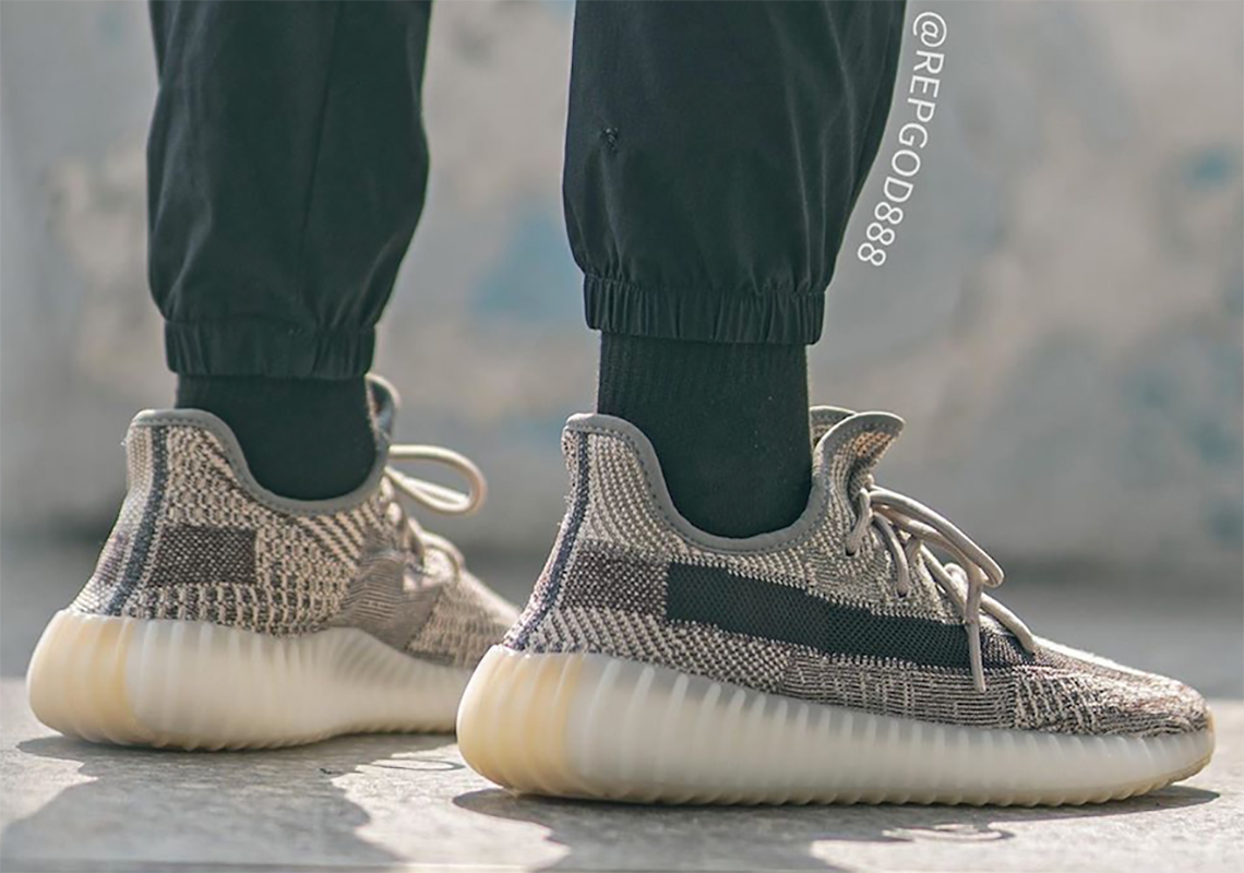 "On-Foot Look At The adidas Yeezy Boost 350 v2 ""Zyon"""