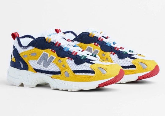 Aimé Leon Dore x New Balance 827 Abzorb To Launch Globally In Yellow