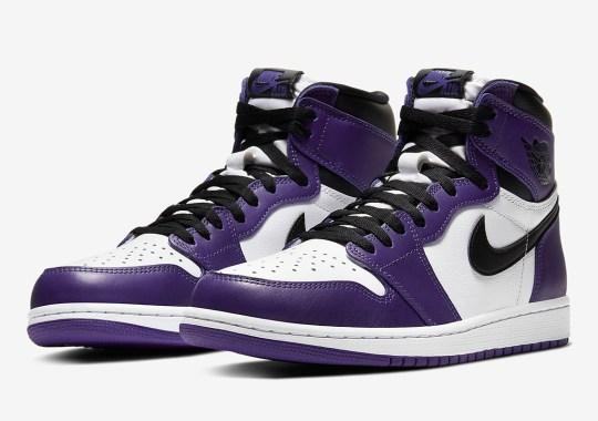"Official Images Of The Air Jordan 1 Retro High OG ""Court Purple"""