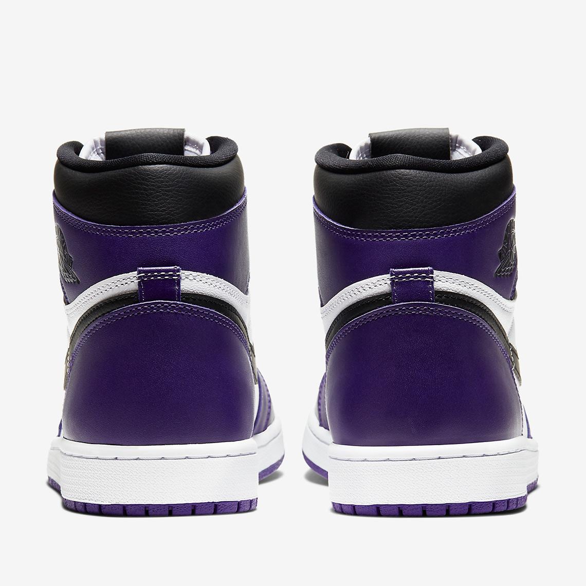 court purple aj1