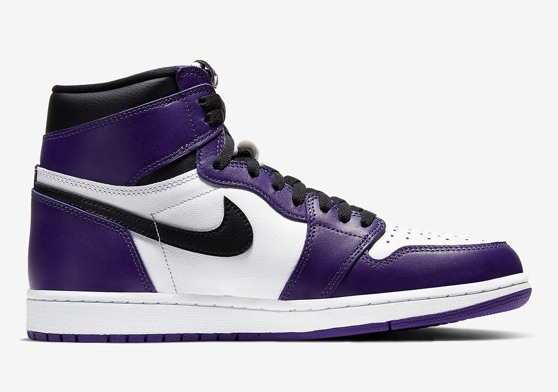 Air Jordan 1 High Court Purple 555088-500 Release Info ...