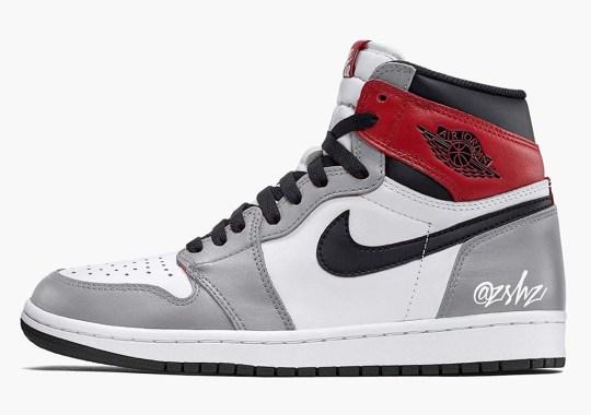 "The Air Jordan 1 Retro High OG ""Light Smoke Grey"" Releases In July"