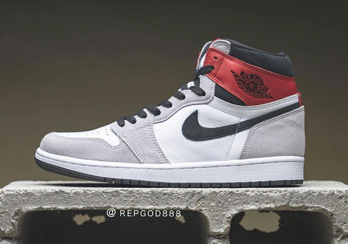 "Air Jordan 1 ""Light Smoke Grey"" Slated For July 11th Release"