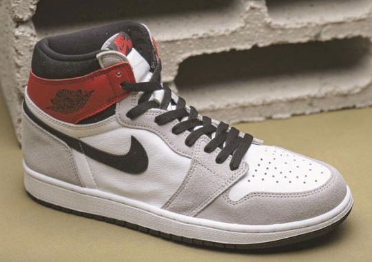 "Air Jordan 1 ""Light Smoke Grey"" Slated For July 11th Release"
