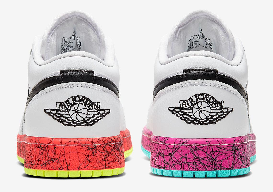 Air Jordan 1 Low Multi Cv9548 100 Release Info Sneakernews Com