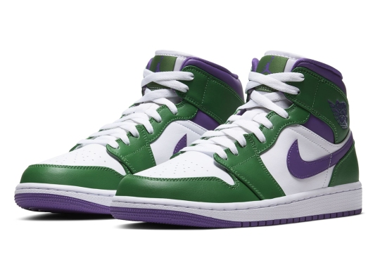"The Air Jordan 1 Mid Gets Angry With This ""Incredible Hulk"" Colorway"
