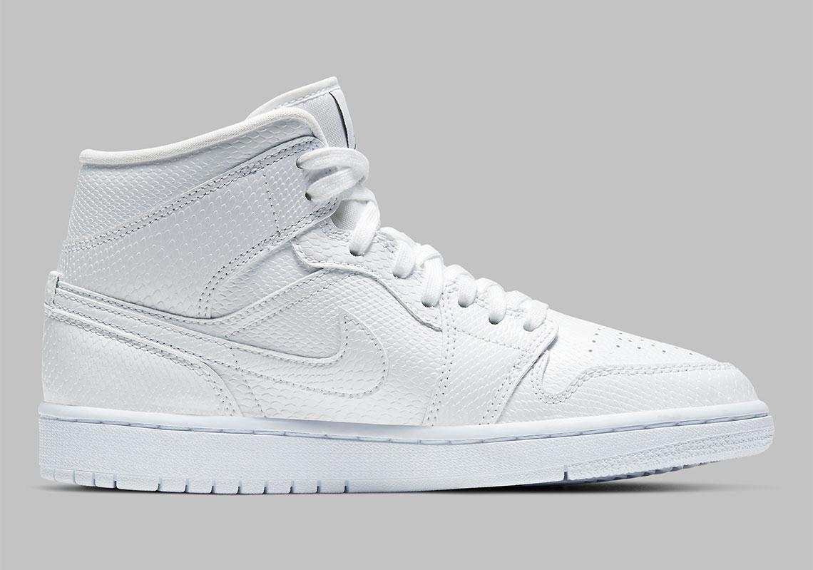 all white jordans 1