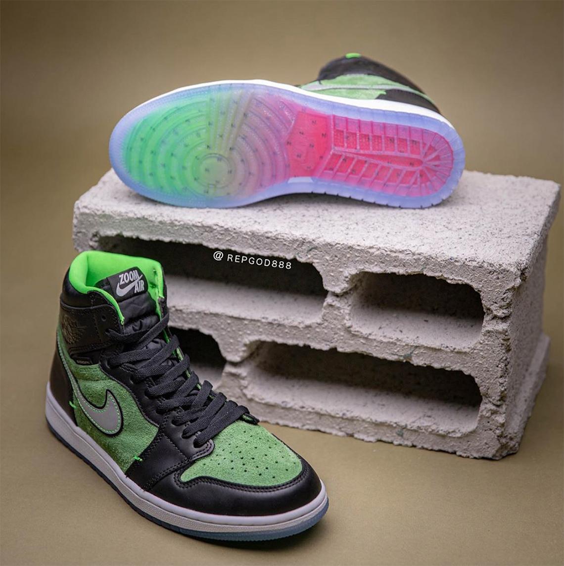 Air Jordan 1 Zoom Zen Green CK6637-002 Release Date | SneakerNews.com