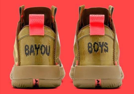 "Where To Buy Zion Williamson's Air Jordan 34 ""Bayou Boys"" PE"