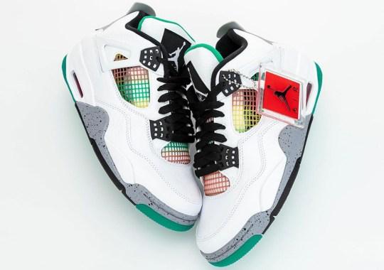 "First Look At The Air Jordan 4 ""Rasta"""