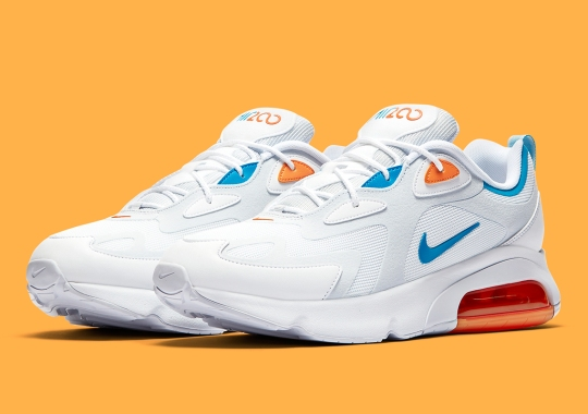 The Nike Air Max 200 Suits Up In Miami Dolphins Colors