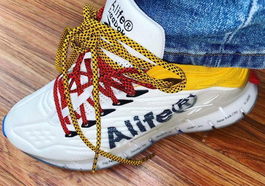 Alife Adds Their Signature Branding To The Reebok Zig Kinetica