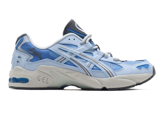 The ASICS GEL-Kayano 5 Appears In A Coastal Blue