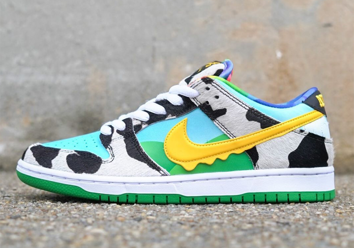 Ben and Jerrys Nike SB Dunk Low Chunky Dunky Release Info