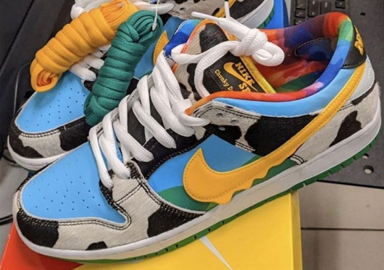 """Ben & Jerry's And Nike SB To Release A """"Chunky Dunky"""" Dunk"""