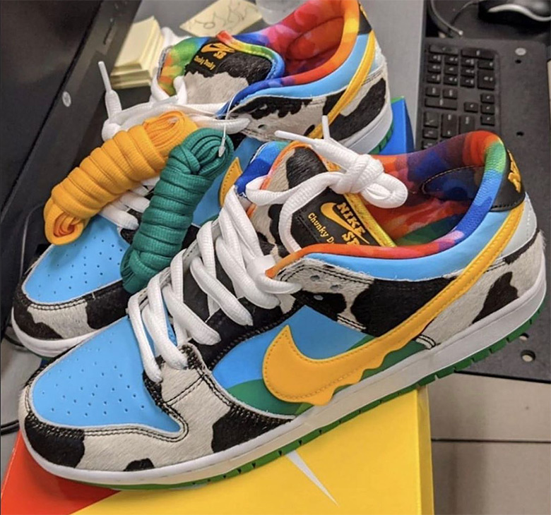 Ben and Jerrys Nike SB Dunk Low Chunky