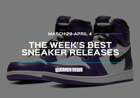 "The Air Jordan 1 High ""Court Purple"" and Stussy's Nike Spiridons Headline This Week's Best Sneaker Drops"