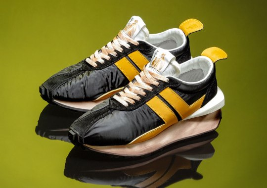 Concepts Gets First Dibs On The Lanvin Bumper's Latest Black And Yellow Colorway