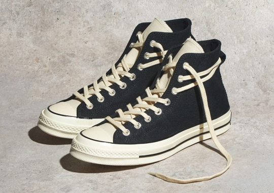 "Where To Buy The Fear Of God ESSENTIALS x Converse Chuck 70 ""Black"""