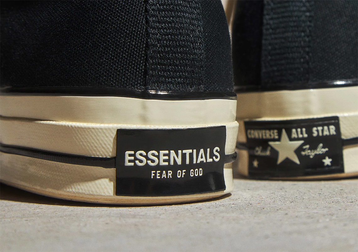 más lejos Birmania Idealmente  Fear Of God FOG Converse Chuck 70 Black - Store List   SneakerNews.com