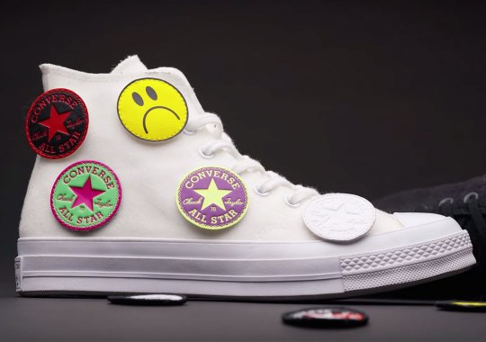 "Size? Previews Upcoming Converse Chuck 70 ""Multi-Patch"" Exclusive"