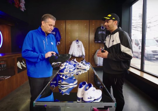 John Calipari Flexes Kentucky Dunks And More With Complex Sneaker Shopping At Oneness