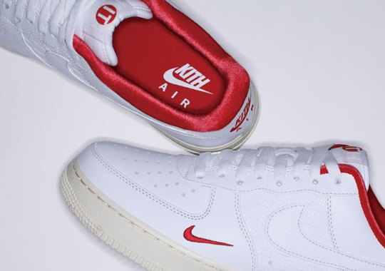 KITH x Nike Air Force 1 Low Revealed On SHOES MASTER Cover