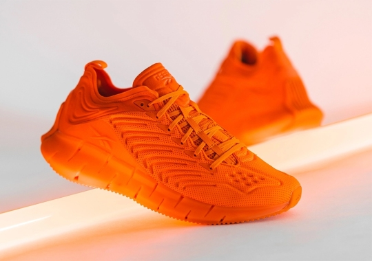 mita And Reebok Go Highlighter Orange With Upcoming Zig Kinetica Collaboration