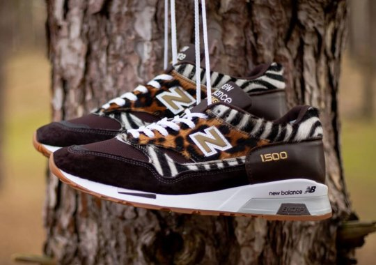 """The Trendy """"Animal Pack"""" Arrives On The New Balance 1500"""
