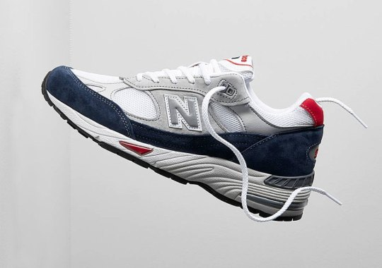 The New Balance 991 Made In UK Gets A UK-Friendly Colorway