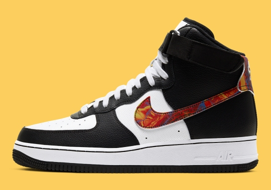 Nike's Vintage Brand Ephemera Series Continues On The Air Force 1 High