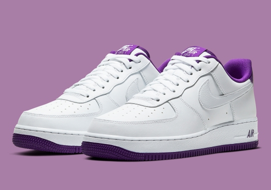 "Nike Lines The Air Force 1 Low With ""Voltage Purple"""