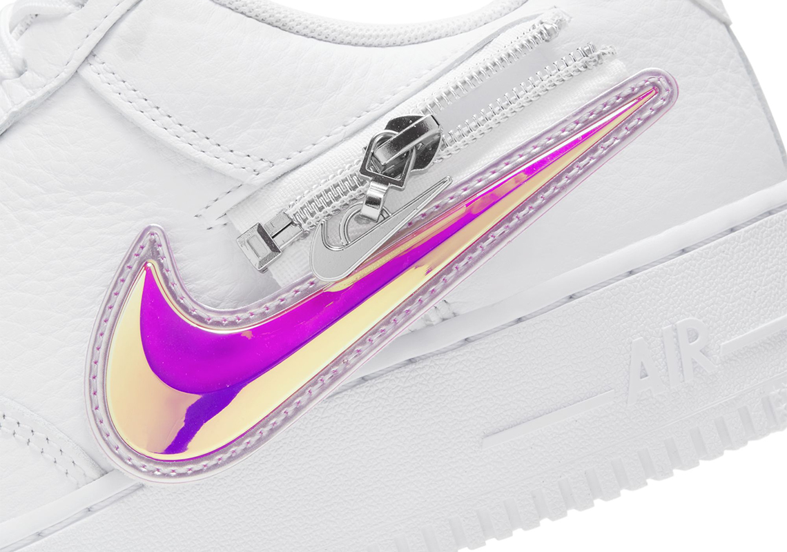 air force 1 removable swoosh