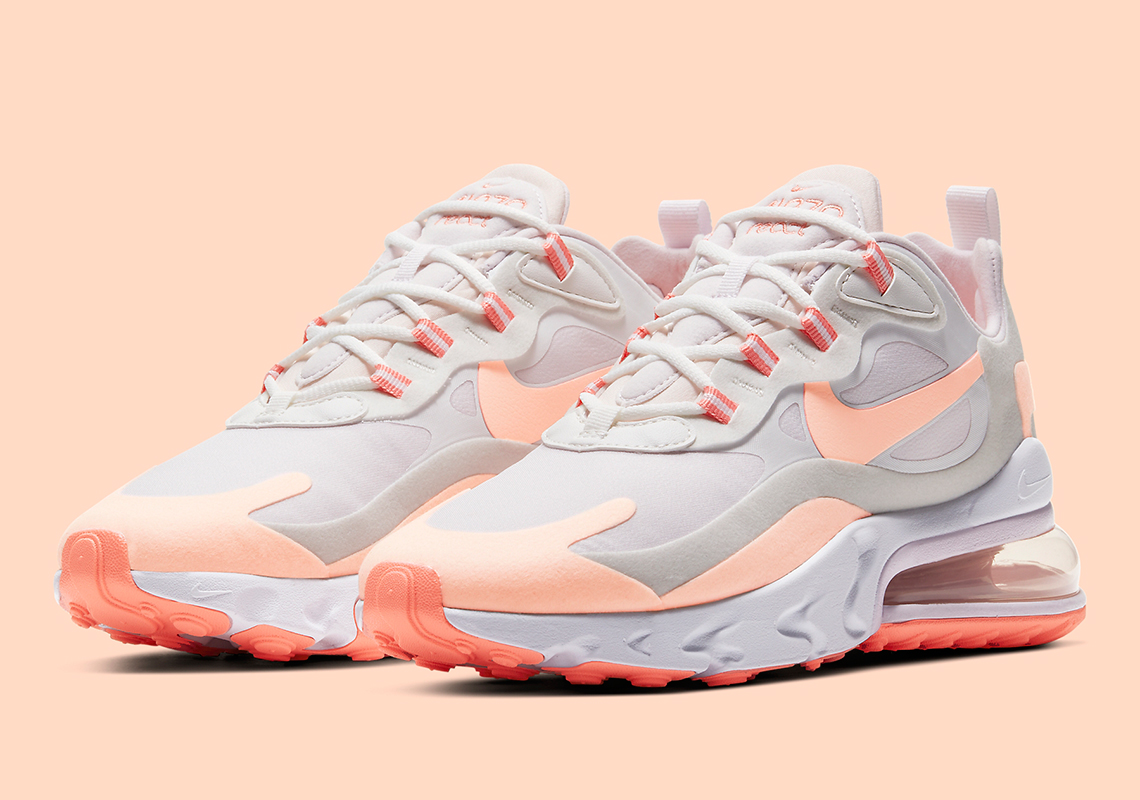 The Nike Air Max 270 React Gets Kissed With Crimson Tint