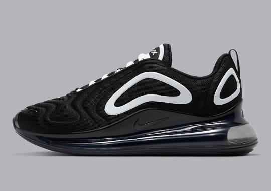 "A Classic ""Oreo"" Look Arrives On The Nike Air Max 720"