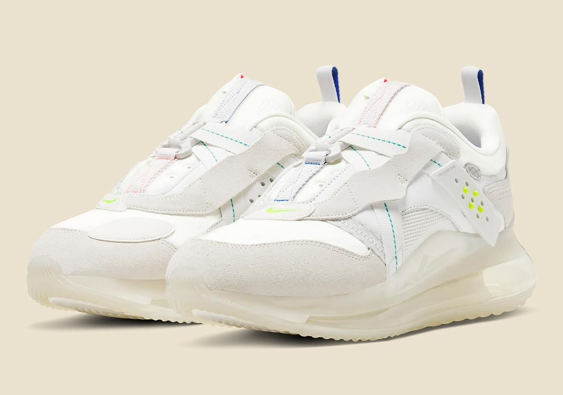 Doctrina desayuno Museo  Nike Air Max 720 OBJ Slip White Blue DA4155-100 |SneakerNews.com