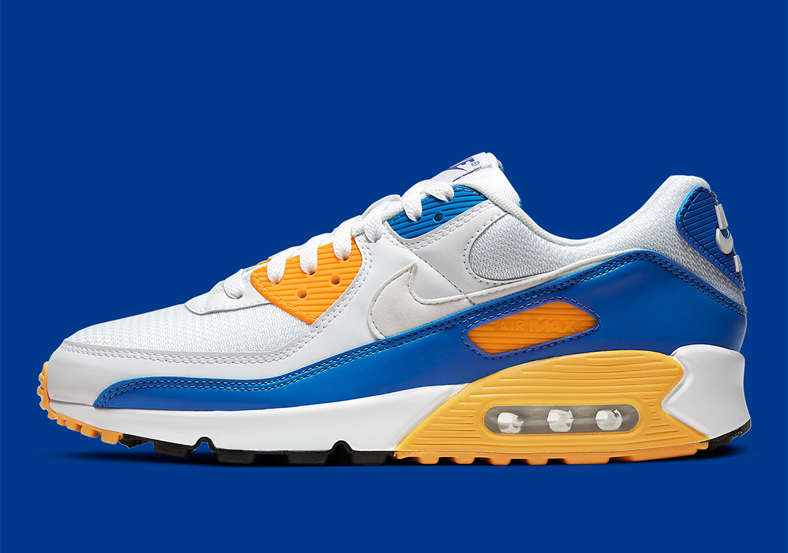 Nike Air Max 90 Blue Orange CT4352-101