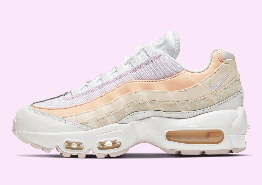 Nike Continues Its Spring Pastels Movement On The Air Max 95