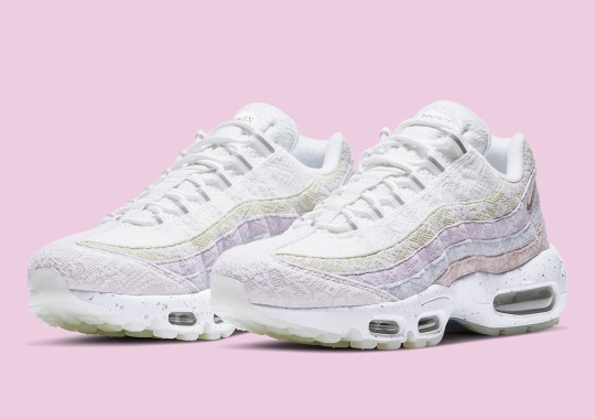 Nike Covers The Air Max 95 With Floral Lace