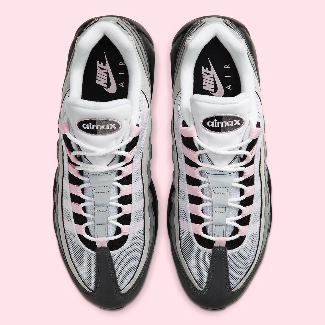 Nike Air Max 95 Pink Grey Cj0588 001 Sneakernews Com
