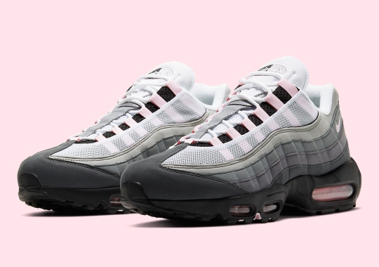"""Nike Air Max 95 OG """"Pink Foam"""" Set To Arrive In The Heat Of Air Max Month"""