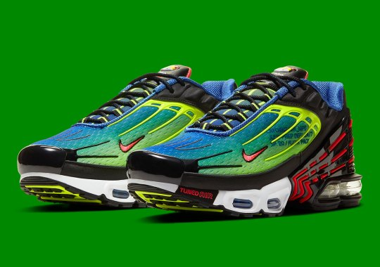 Parachute In With this Colorful Nike Air Max Plus 3