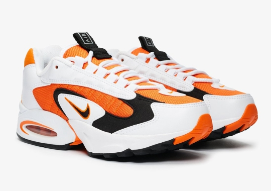 "Nike Air Max Triax 96 Releases In ""Magma Orange"""