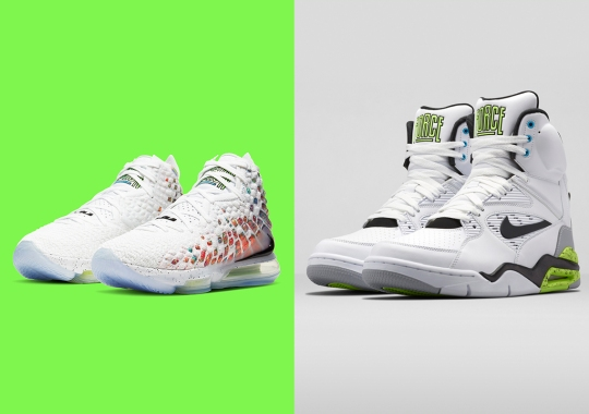 "Official Images Of The Nike LeBron 17 ""Command Force"""