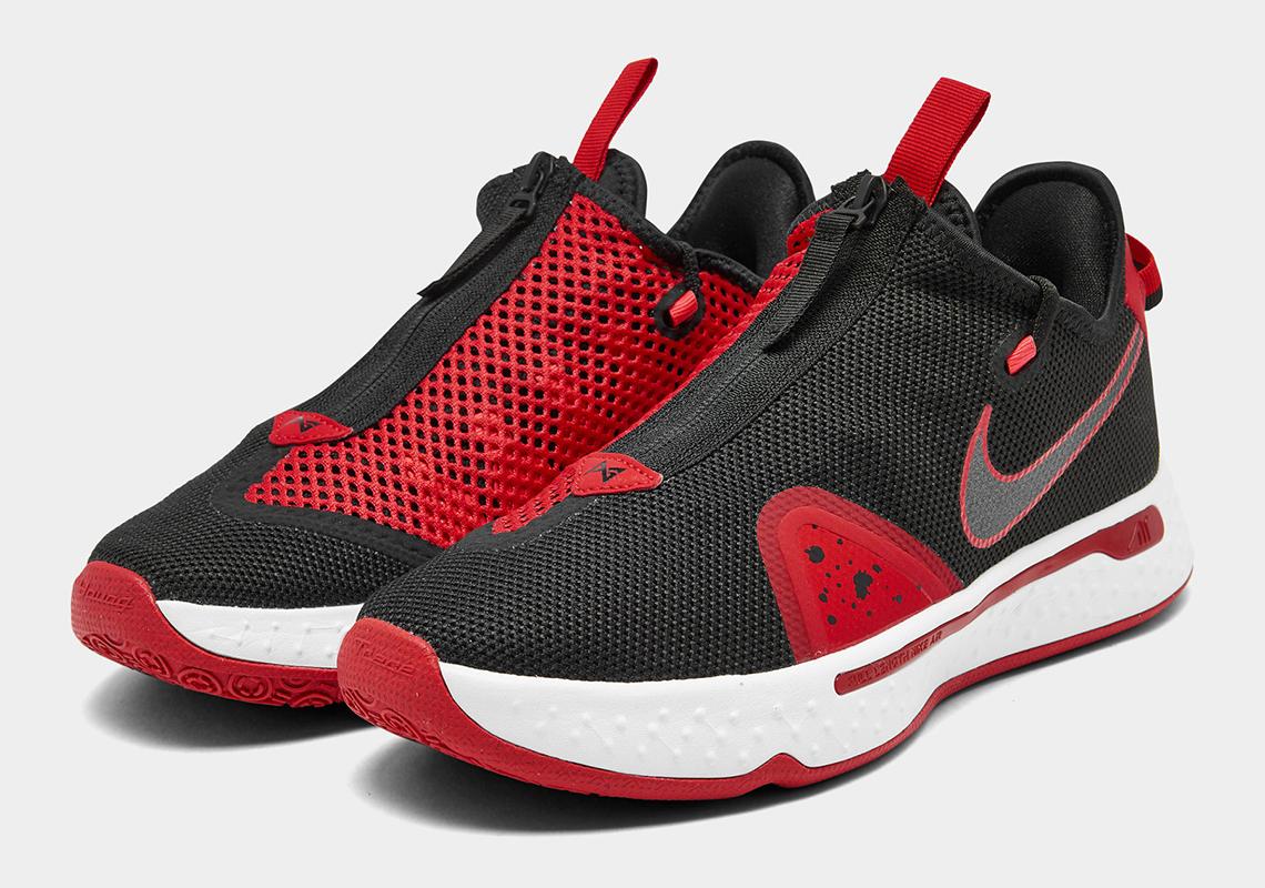 Nike PG 4 Black University Red White CD5079-003 | SneakerNews.com