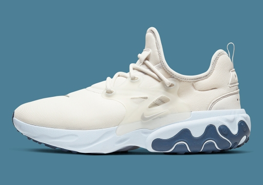 The Nike Presto React Hits The Clouds With Platinum Tint And Diffused Blue