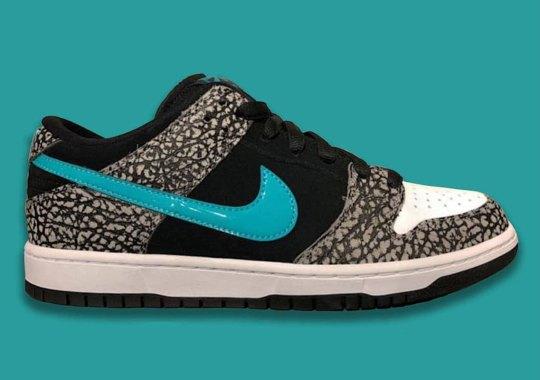 "Nike SB Dunk Low ""atmos Elephant"" Set To Drop In November"
