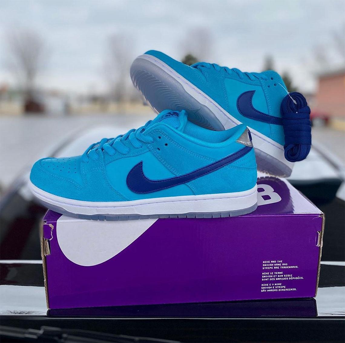 Rana Polinizador fe  Nike SB Dunk Low Blue Fury BQ6817-400 Release Info - The Dope Timez