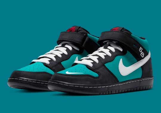 "The Nike SB Dunk Mid ""Griffey"" To Release This Spring"